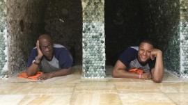 Craig Melvin and Al Roker visit a traditional South Korean spa