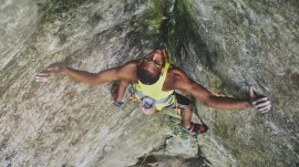 This teen rock climber is shattering stereotypes as he reaches new heights