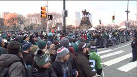 Philadelphia prepares for Super Bowl parade