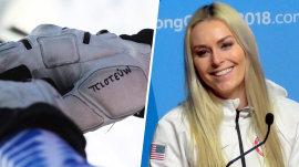 The secret messages on Lindsey Vonn's Olympic uniform