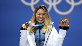 What do Olympic athletes do with their medals?