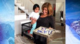 Hoda Kotb celebrates one year with Haley Joy
