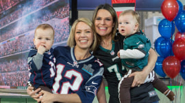 See Savannah Guthrie and Dylan Dreyer's babies compete in Baby Bowl