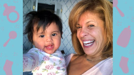 Hoda Kotb describes Haley Joy's sweet moment laughing while playing footsie