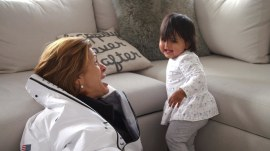 See TODAY anchors' touching reunions with their little ones after Olympics