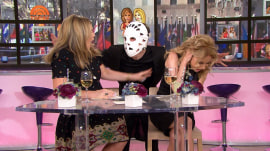 Watch a producer sneak up on Kathie Lee Gifford and Jenna Bush Hager