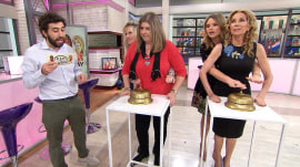 Kathie Lee Gifford and Jenna Bush Hager play 'It Takes Two'