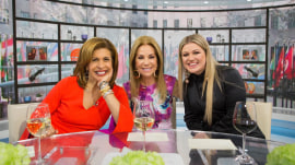 Kathie Lee welcomes Hoda back (along with Kelly Clarkson!)