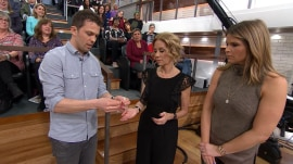 Watch magician Nate Staniforth dazzle live audience with a card trick
