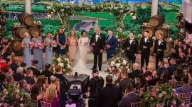 Watch Kathie Lee, Hoda and John Cena toast newlyweds Jordon and Kyle