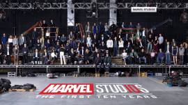 See the epic group photo for Marvel Studios' 10th anniversary