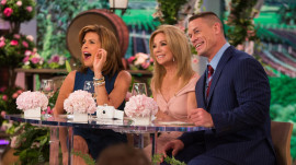 It's live wedding day on Kathie Lee and Hoda, and John Cena's excited