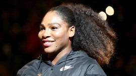Serena Williams returns to tennis for the first time in 14 months