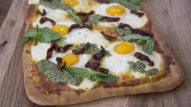 Pizza for breakfast? Why not? (You'll love the way Ryan Scott makes it)