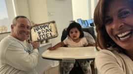 Hoda Kotb shows off the cake she made for partner Joel Schiffman