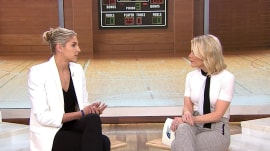 Basketball player Elena Delle Donne talks about her career and caring for her sister