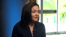 Sheryl Sandberg speaks out on growing Facebook backlash
