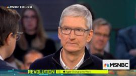 Apple's Tim Cook criticizes Facebook over user privacy controversy