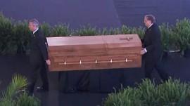 Rev. Billy Graham, famed evangelist, laid to rest