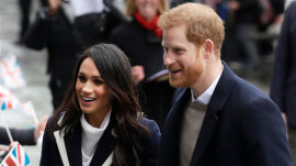 Prince Harry and Meghan Markle celebrate International Women's Day