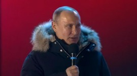 Vladimir Putin wins fourth presidency in a landslide