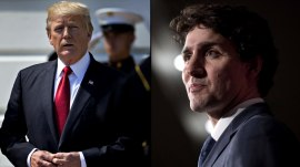 Trump reportedly says he made up facts in meeting with  Justin Trudeau