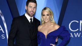 Carrie Underwood's husband teases her about her hair for her birthday
