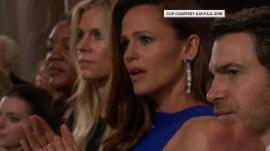 Jennifer Garner reacts to Oscars clip that went viral