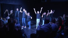 Theater kids give back: Teens accept donations instead of ticket money