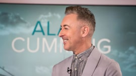 Alan Cumming: I dance between takes on new drama 'Instinct'