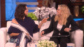 Mila Kunis and Kate McKinnon couldn't stop laughing on 'The Ellen DeGeneres Show'