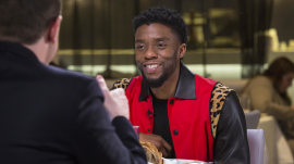 'Black Panther' star Chadwick Boseman: 'There's a thirst' for black superheroes