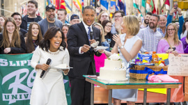 Happy birthday, Sheinelle Jones! TODAY anchor celebrates with cake on the plaza