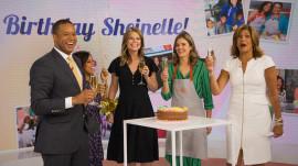 TODAY celebrates milestone birthdays (including Sheinelle's): April 19, 2018