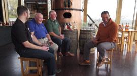 Craig Melvin visits a Kentucky distillery to learn from a bourbon legend