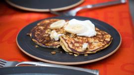 Favorite childhood recipes: Granola pancakes, tomato soup, meatballs