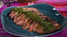 Make Natalie Morales' family-friendly steak, coconut rice for dinner