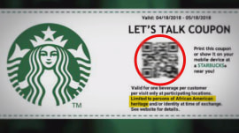 Fake Starbucks coupons online promise free coffee for black customers