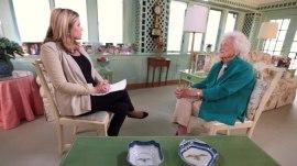 Look back at Barbara Bush's memorable moments on TODAY