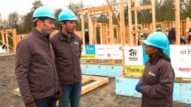 'Property Brothers' stars build homes for deserving moms in Nashville