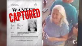 Fugitive grandmother accused of 2 murders is behind bars