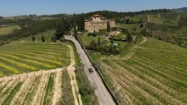 This is Tuscany: Vast vineyards, stunning beauty