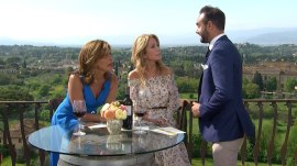 KLG and Hoda learn Italian pickup lines, like 'I can't live without you'