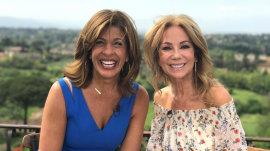 Kathie Lee and Hoda say 'ciao' from sunny Italy!