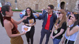 'Donnadorable' hits the streets of Florence to see if Italians know Kathie Lee and Hoda