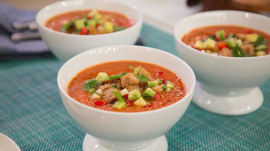 Make Natalie Morales' chilled gazpacho: It's 'sunshine in a bowl'
