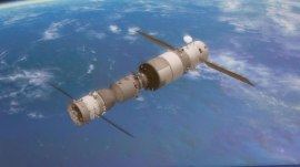 Chinese space station plunges harmlessly into Pacific