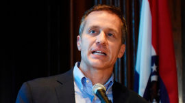 Missouri Gov. Eric Greitens defies calls to resign over sex scandal