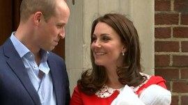 Duchess Kate leaves hospital only 7 hours after delivering royal baby