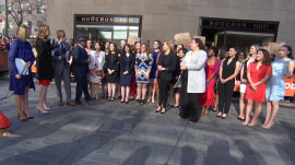 New York Women in Communications scholarship winners visit TODAY